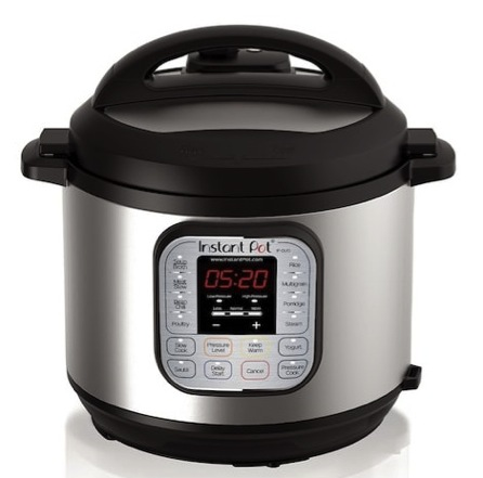 Instant Pot Duo 7-in-1 Programmable 6-Quart Pressure Cooker