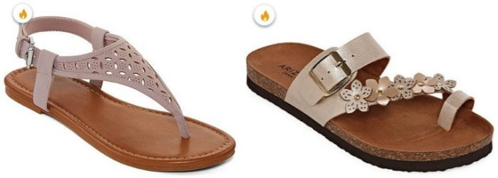 JCPenney Sandals Sale