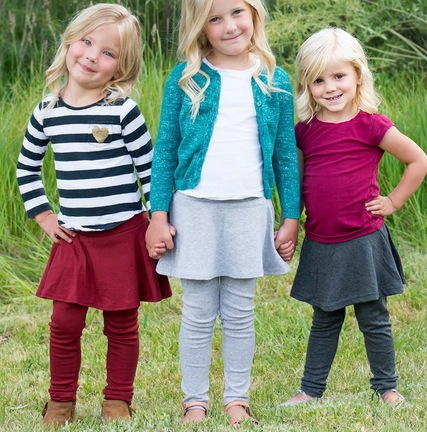 Kids Skirt & Leggings