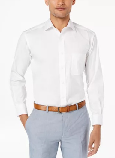 Men's Big & Tall Classic/Regular Fit Dress Shirt