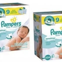 Pampers Wipes 9-pack