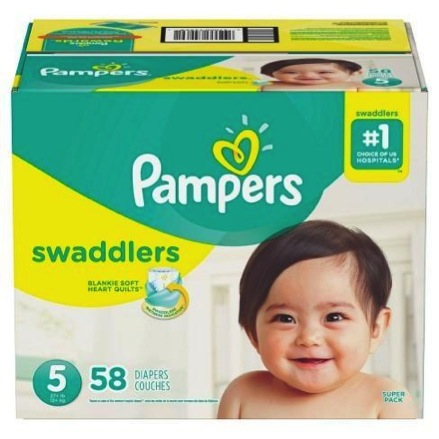 Pampers Super-Pack Diapers