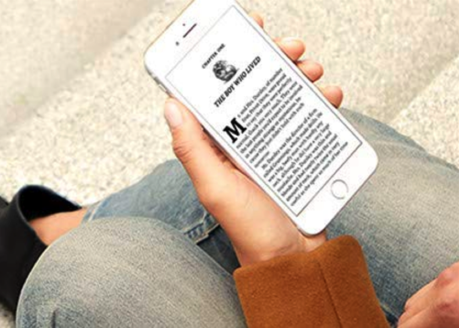 Prime Reading on phone