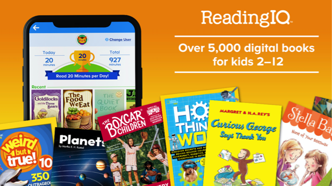 ReadingIQ App for Kids