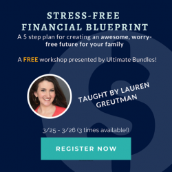 free stress-free finances webinar
