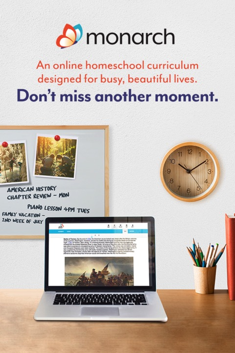 Monarch Homeschool Online Curriculum