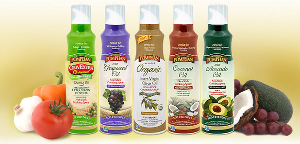Organic Pompeian Cooking Sprays