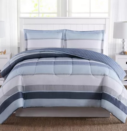 3-Piece Comforter Sets for $18.99