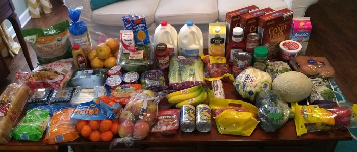 huge Aldi shopping haul