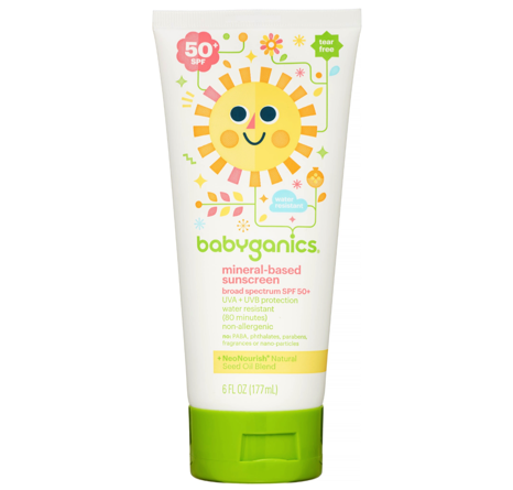 Babyganics Sunscreen