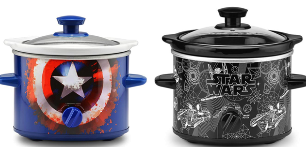 Captain America and Star Wars Slow Cookers