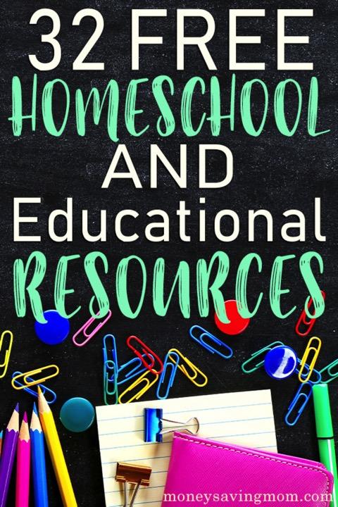 Free Homeschool Curriculum List