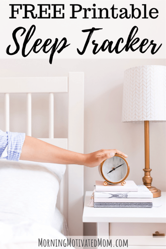picture about Sleep Tracker Printable named Totally free Slumber Tracker Printable - Monetary Conserving Mom® : Cash