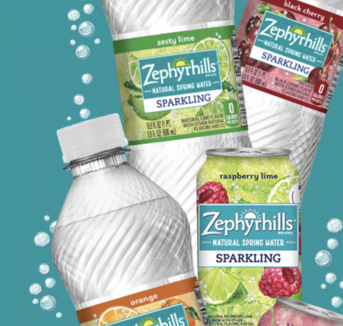 Free Sparkling Water