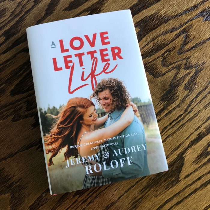 a photo of Love Letter Life book