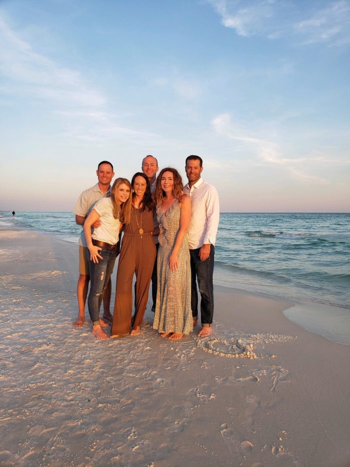 photo of couples on the beach