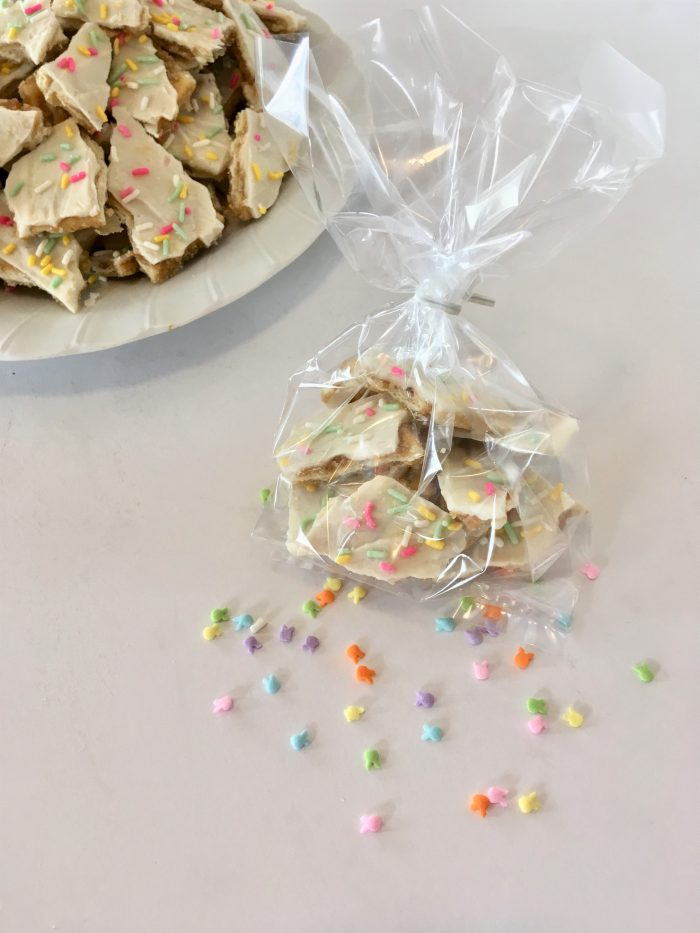 Easter candy packages for an Easter basket