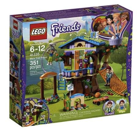 LEGO Friends Mia's Tree House 41335 Creative Building Toy Set