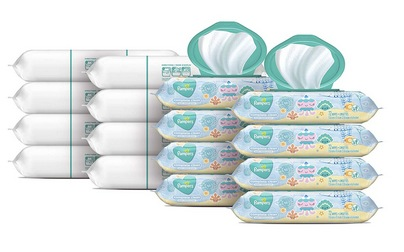 Pampers Complete Clean Scented Baby Wipes