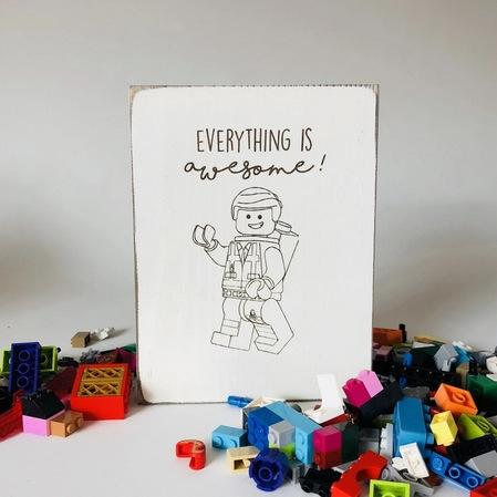 LEGO Building Zone Farmhouse Signs