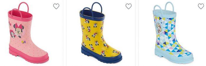 Kids Disney Rain Boots
