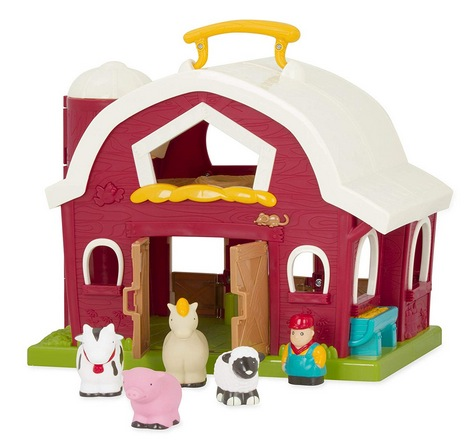 Battat – Big Red Barn – Animal Farm Playset for Toddlers