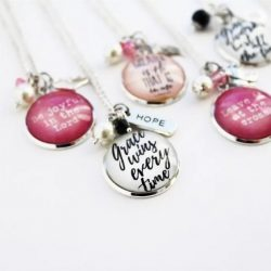 Scripture Inspired Pendants