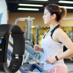Smart Wristband with Heart Rate Monitor