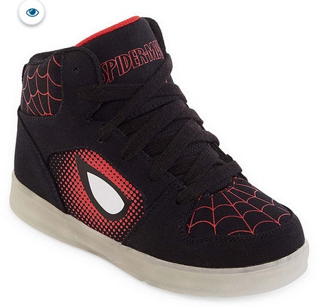 c31240110e685 Get these Spiderman Light-Up Boys Sneakers for just  23.99 (regularly  50)!