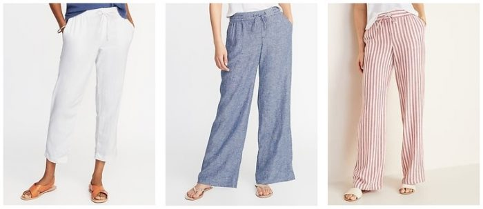Old Navy Women's Linen Pants