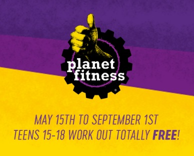 FREE Planet Fitness Membership for Teens This Summer