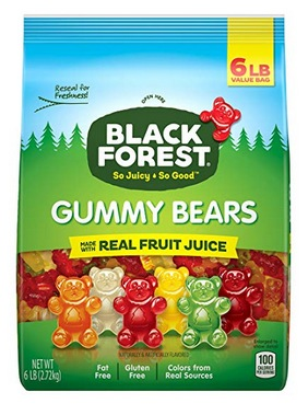 Black Forest Gummy Bears Candy