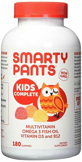 SmartyPants Toddler Vitamins