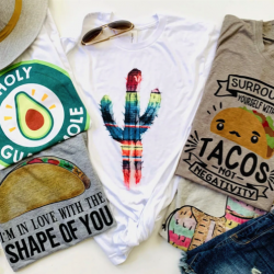 Taco Lover Graphic tees