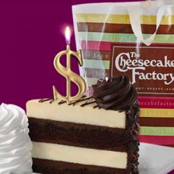 The Cheesecake Factory Reward