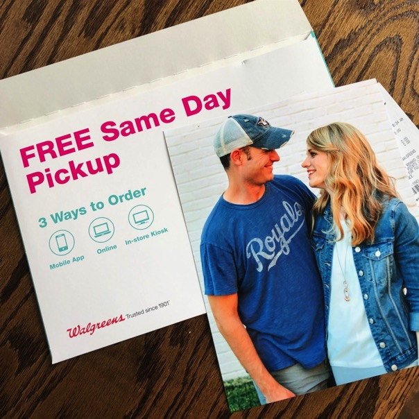 free Walgreens Photo Print of Crystal and Jesse