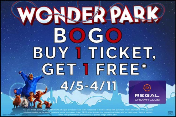 Wonder Park movie tickets