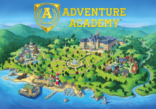 free educational Adventure Academy game