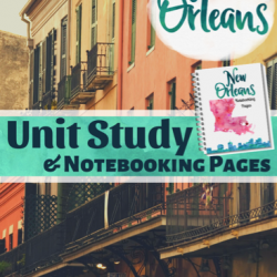 Free New Orleans Unit Study