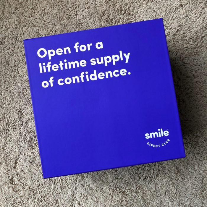 Smile Direct Club box