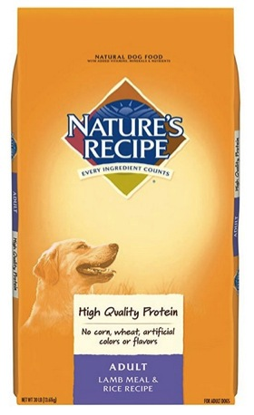 Nature'S Recipe Adult Dry Dog Food Adult Lamb Meal & Rice Recipe