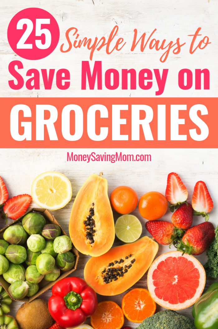 Simple Ways to Save on Groceries