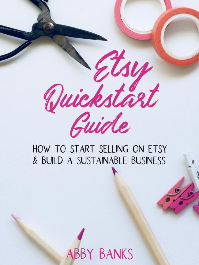 Etsy Quickstart Guide