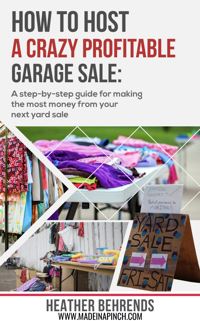 How to Host an Incredibly Profitable Garage Sale