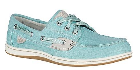 Women's Songfish Linen Boat Shoe