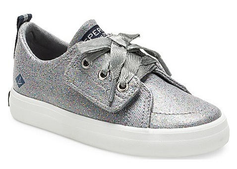 Little Kid's Crest Vibe Sparkle Junior Sneaker
