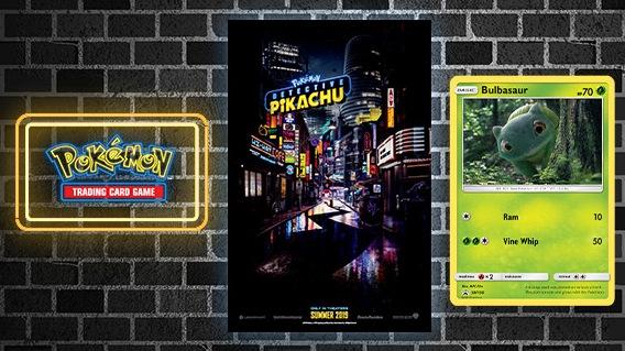 FREE Detective Pikachu Promo Card & Movie Poster