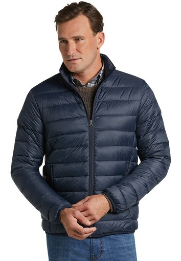 1905 Collection Tailored Fit Packable Quilted Jacket