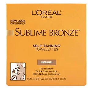 Free L'Oreal Self-Tanning Towelettes Sample