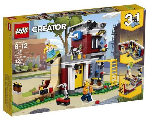 LEGO Creator 3in1 Modular Skate House Building Kit